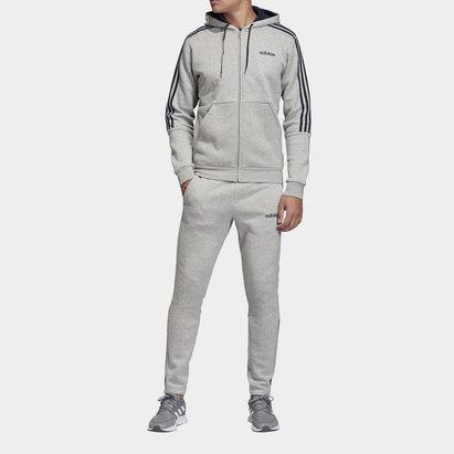 adidas 3 Stripe Tracksuit Mens
