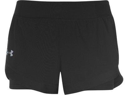 Under Armour Speed 2 in 1 Shorts Ladies