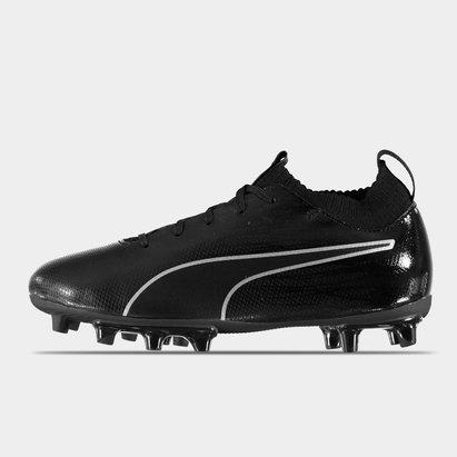 Puma evoKNIT Childrens Firm Ground Football Boots
