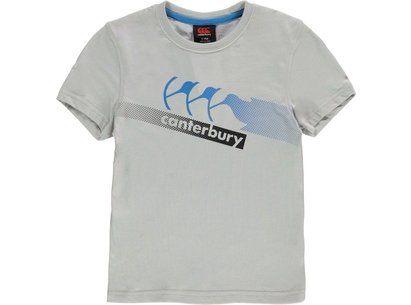 Canterbury CCC Graphic T Shirt Junior Boys