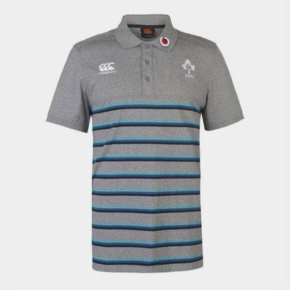 Canterbury Ireland Rugby Stripe Polo Mens