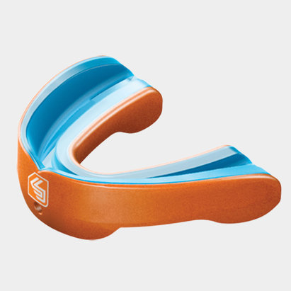 Shock Doctor Gel Nano Rugby Mouthguard Orange