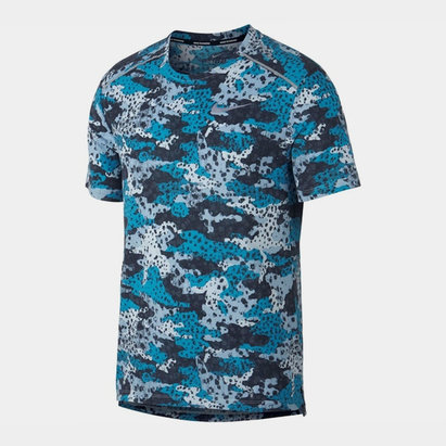 Nike Breathe 365 Graphic Pattern Tee Mens