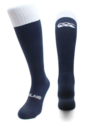 Canterbury England 2012/13 Home Players Rugby Socks