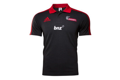 Canterbury Crusaders Super Rugby 2016 Players Media Polo