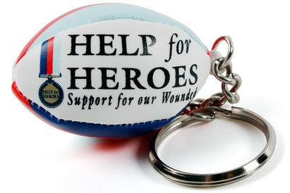 Gilbert Help for Heroes Key Ring