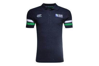 Canterbury RWC 2015 CCC Half Back Rugby Polo Shirt