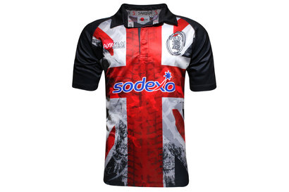 Samurai British Army Union Flag 2015 Rugby Shirt