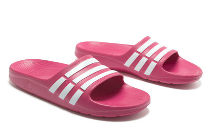 adidas Duramo Kids Shower Slide Flip Flops
