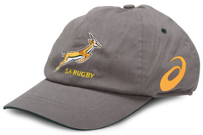 Asics South Africa Springboks 2014/15 Rugby Cap Stone/Bottle