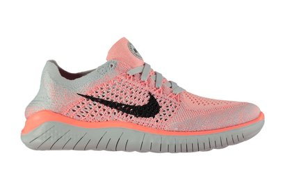 Nike Free Run Flyknit Ladies Running Shoes