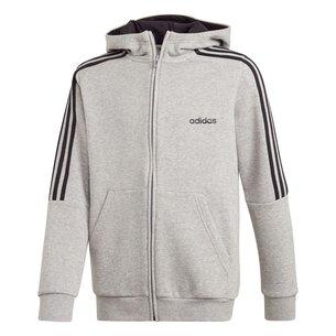adidas 3S Logo Full Zip Hoodie Junior Boys