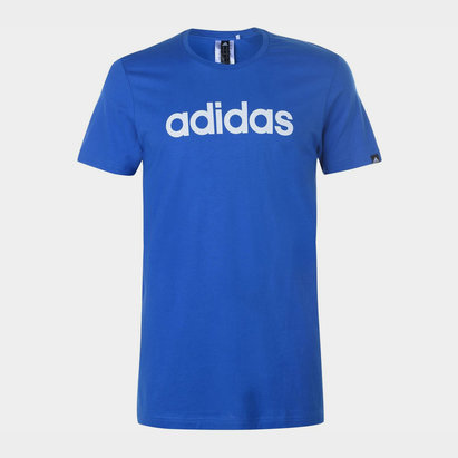 adidas Linear Logo T Shirt Mens