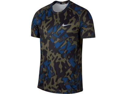 Nike Miler Short Sleeve Running Top Mens