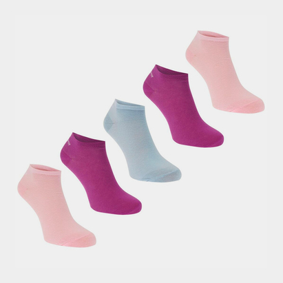 Slazenger Trainer Socks 5 Pack Ladies