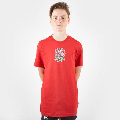 Canterbury England RFU Uglies Cotton Junior T-Shirt