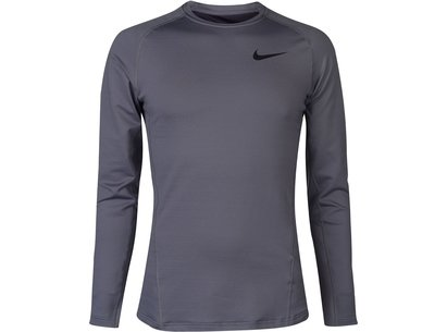 Nike Therma Long Sleeve T Shirt Mens