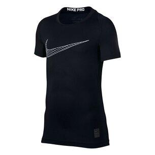 Nike Pro Core Short Sleeve T-Shirt Junior Boys