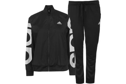 adidas Logo Graphic Tracksuit Ladies