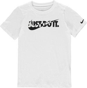Nike Blocked Swoosh QTT T Shirt Junior Boys