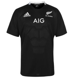 adidas New Zealand All Blacks Home Rugby Shirt 2018 2019