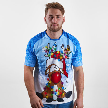 World Beach Rugby The Northern Sleighers Christmas 2018 Rugby Shirt
