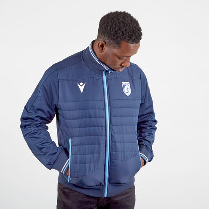 Macron Cardiff Blues 2019/20 Players Anthem Rugby Jacket