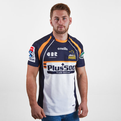 O'Neills Brumbies 2019 Home Super Rugby S/S Rugby Shirt