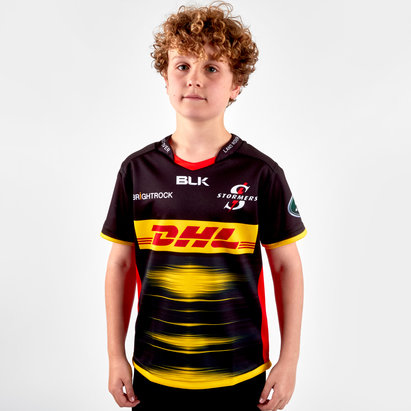BLK Stormers 2019 Alternate Kids Super Rugby Replica Shirt