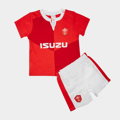 Wales WRU 2019/20 Kids T-Shirt & Short Set
