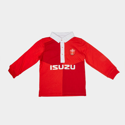 Wales WRU Infant Classic L/S Shirt