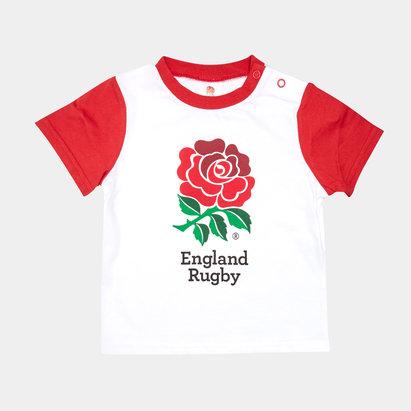 England RFU 2019/20 Infant Rose T-Shirt