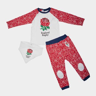 England RFU 2019/20 Infant 3 Piece Gift Set