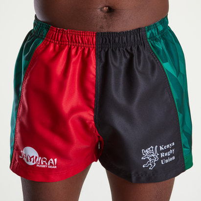 Samurai Kenya 7s 2019 Alternate Rugby Shorts