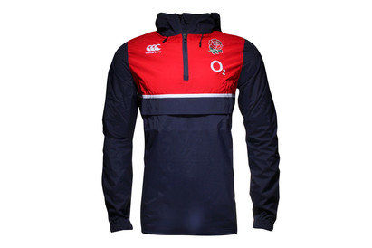 England 2015/16 1/4 Zip Rugby Shower Proof Jacket