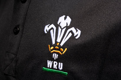 Wales WRU 201617 Players Media Rugby Polo Shirt