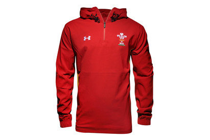 Wales WRU 2016/17 1/4 Zip Supporters Rugby Jacket