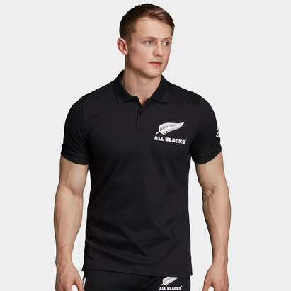 adidas New Zealand All Blacks 2019 Cotton Supporters Polo Shirt