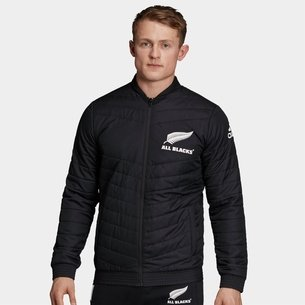 adidas New Zealand All Blacks 2019 Supporters Stadium Rugby Jacket