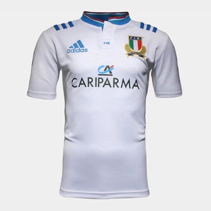 adidas Italy 2016/17 Alternate S/S Rugby Shirt