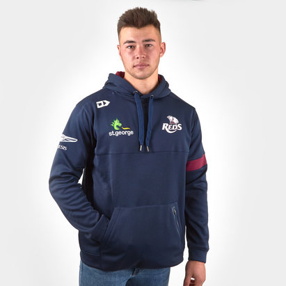 Dynasty Sport Queensland Reds 2019 Rugby Players Performance Hooded Sweat