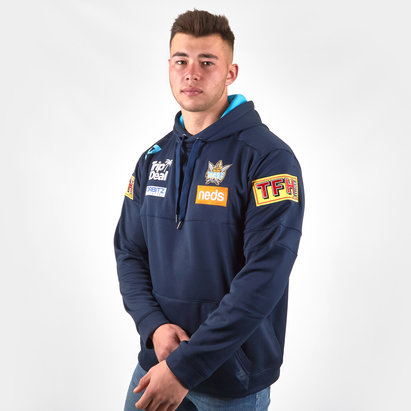 Dynasty Sport Gold Coast Titans 2019 NRL Performance Hooded Rugby Sweat