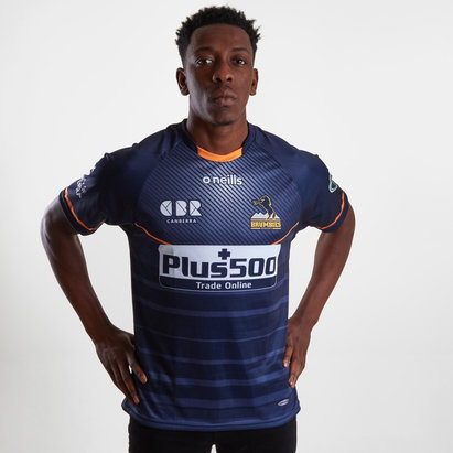 ONeills Brumbies 2019 Super Rugby Training S/S Rugby Shirt