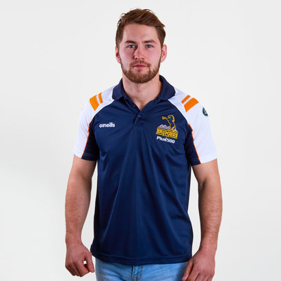 ONeills Brumbies 2019 Super Rugby Brindie Polo Shirt