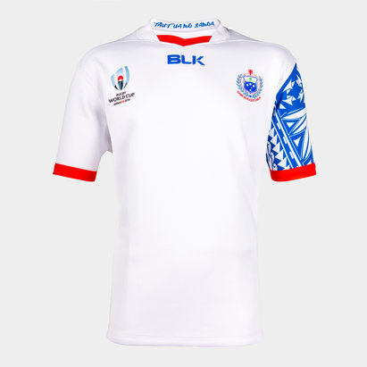 BLK Samoa RWC 2019 Alternate S/S Replica Rugby Shirt