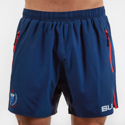 BLK Samoa RWC 2019 Replica Gym Shorts