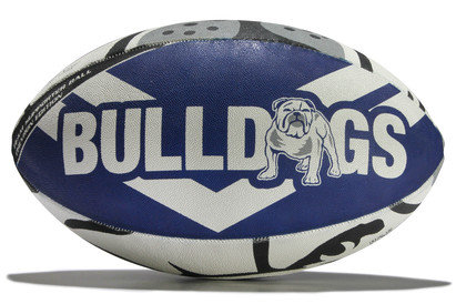 Steeden Canterbury Bulldogs NRL Supporters Rugby Ball