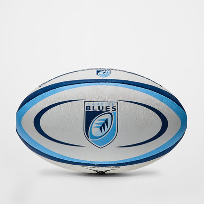 Gilbert Cardiff Blues Replica Rugby Ball