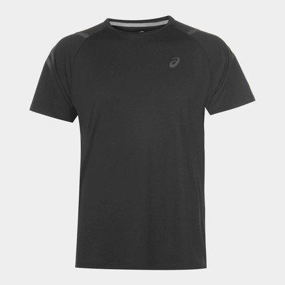 Asics Icon Short Sleeve T-Shirt Mens Black