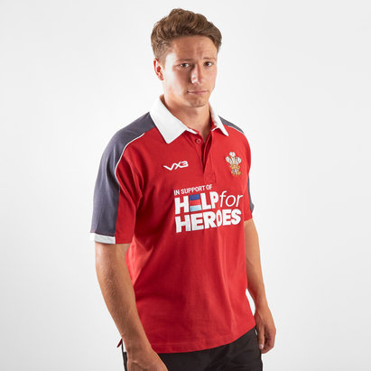 VX3 Help for Heroes Wales 2019/20 Rugby Shirt